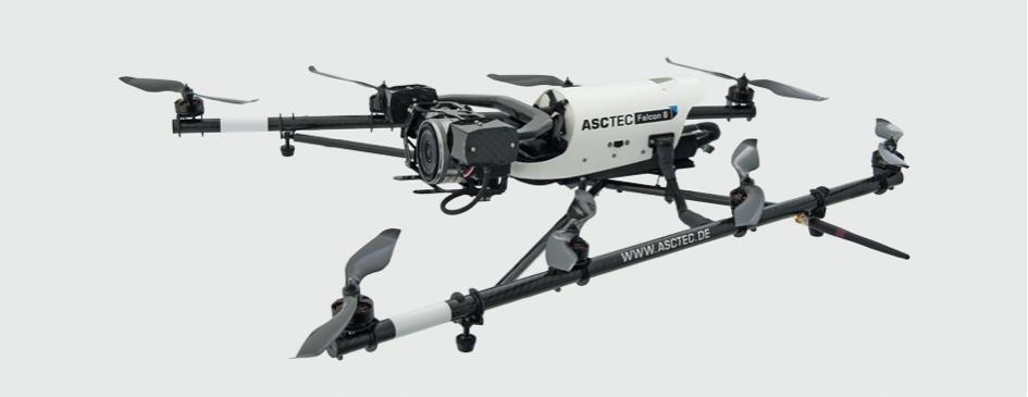 Le drone ASCTEC FALCON 8