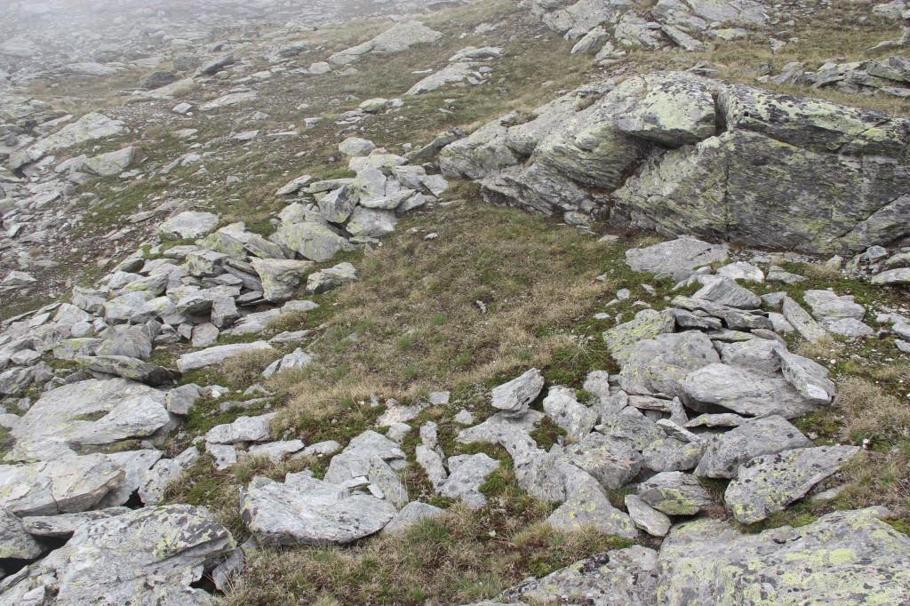 L'une des près de 25 cabane du nouveau site repéré dans le Haut-Valais.